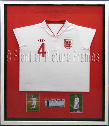 Sports Shirts Framing | Frontier Picture Frames | Bath | Bristol